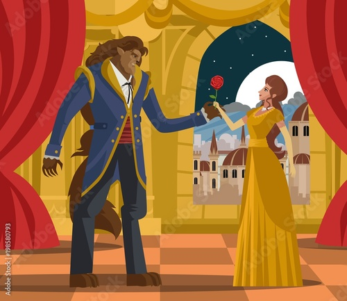 Tela classic tale of princess and beast