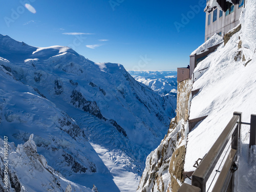 Photo Aiguille du Midi, French Alps