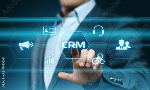 Crm Customer Relationship Management Business Internet Techology
