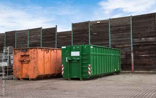 Photographie  Müllcontainer