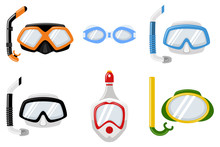 Snorkel Masks For Diving And S...
