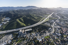 Aerial View Of Ventura 101 Fre...