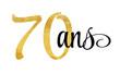 70 ans - signature