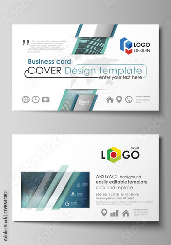 Business card templates easy editable layout abstract vector business card templates easy editable layout abstract vector design template technology background in wajeb Image collections