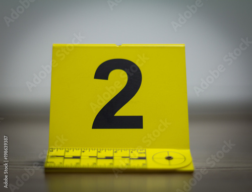 Police Evidence Marker Forensic Equipment Isolated Crime Scene Investigation Concept Buy This Stock Photo And Explore Similar Images At Adobe Stock Adobe Stock