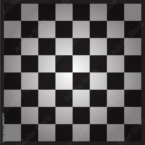 Empty chess board  Ready layout for your design  - Buy this