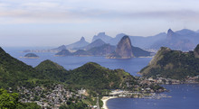 Landscape Of The Guanabara Bay...