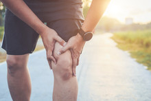 Injury From Workout Concept : ...
