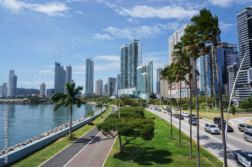 Fotografía  Skyline of Panama City, Panama