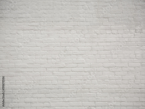 White Brick Wall Background Wallpaper