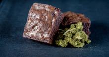 Marijuana Edible Brownie