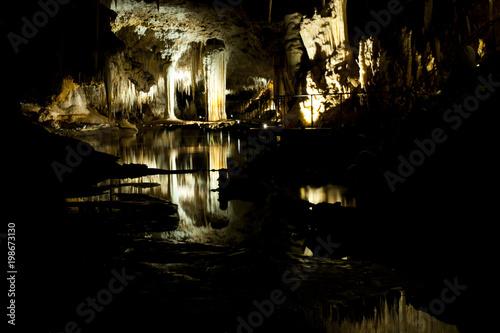 Fototapeta Lake Cave - Western Australia obraz na płótnie