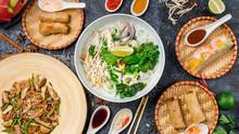 Assorted Asian Dinner, Vietnam...