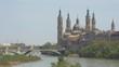 Puente de Santiago and Basilica of Our Lady of the Pillar