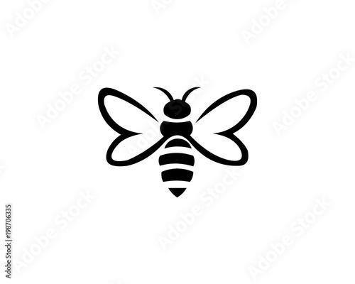 bee animal logo