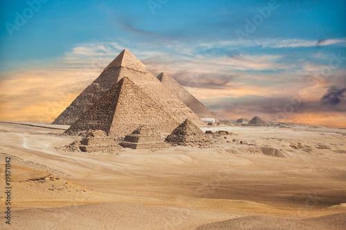 In de dag Egypte Egypt Cairo - Giza