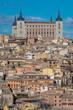 The Alcazar of Toledo in Spain