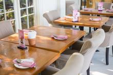 Interior Of Vintage Restaurant Decoration Luxury Cafe