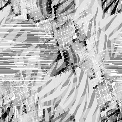 powielony-abstrakcyjny-etniczny-wzor-motyw-akwareli