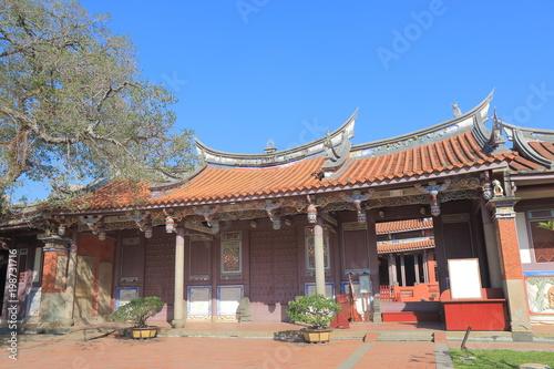Tablou Canvas Confucian temple in Tainan Taiwan