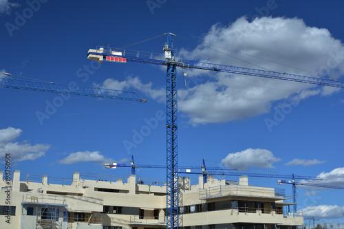 Fotografía  construcción de viviendas