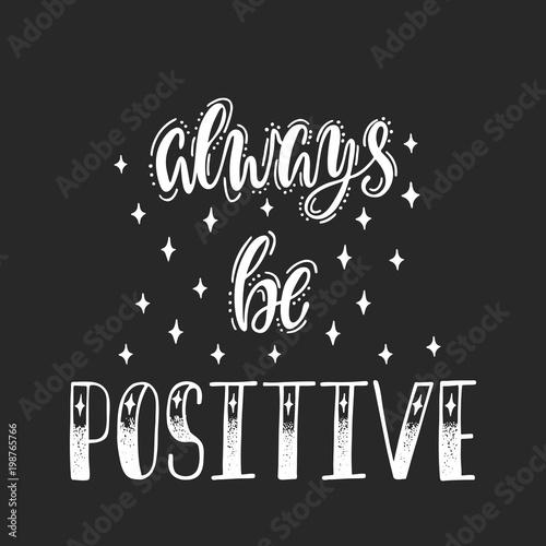 Staande foto Positive Typography 3749802 Print