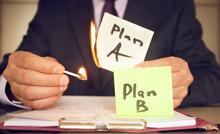 Plan B Against Plan A