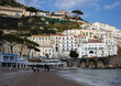 beach in Amalfi in spring. Italy, Sorrento Campania