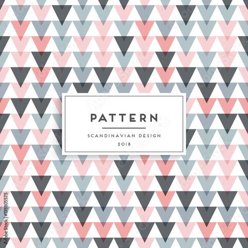 Fotografija  Scandinavian seamless pattern
