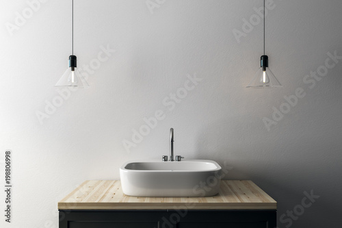 Fotografía  Sink with copy space