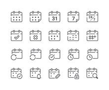 Minimal Set Of Calendar And Sc...
