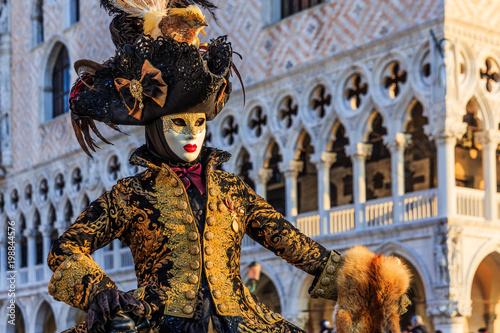 Fototapeta premium Wenecja, Włochy. Karnawał w Wenecji.