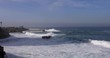 Pacific beach view in La Jolla Beach, San Diego, California