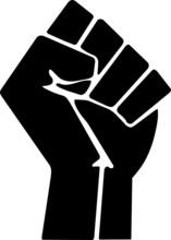 Raised Fist Black Power