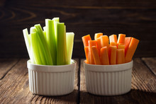 The Sticks Of Carrots And Cele...