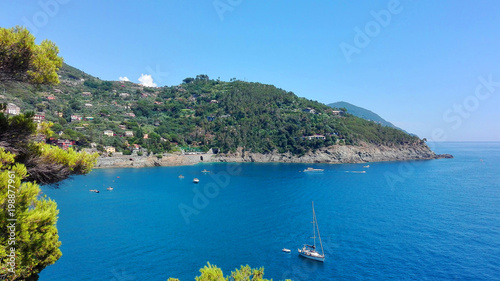 Photographie  beautiful view of the ligurian riviera