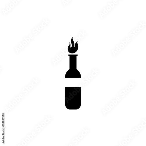 Fotografie, Obraz  incendiary mixture icon