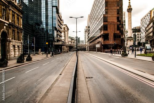 Foto op Plexiglas Chicago empty London