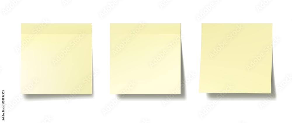 Fototapety, obrazy: Sticky notes