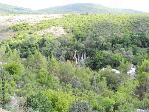 Keuken foto achterwand Olijf Wasserfall Bosnien-Herzegowina