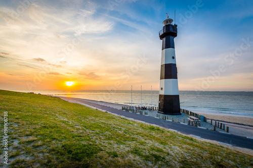 Montage in der Fensternische Leuchtturm Breskens - Netherlands