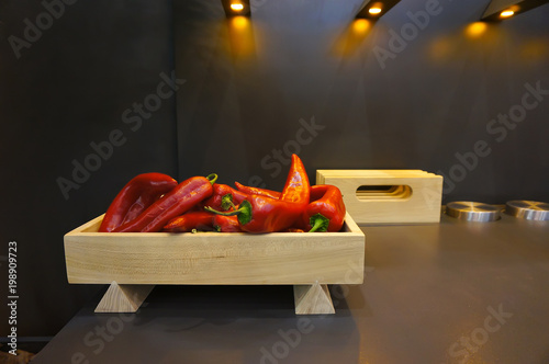 Foto op Canvas Hot chili peppers Hot chili pepper