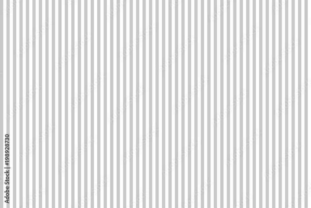 Fototapeta Pattern stripe seamless Gray and white. Vertical stripe abstract background vector.