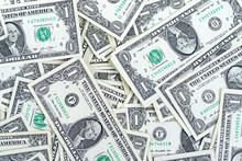 Background Of One Dollar Bills