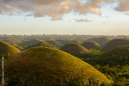 Foto op Aluminium Heuvel Philippines - Chocolate Hills on Bohol