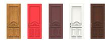 Set Of Various Wooden Doors. 3...