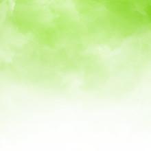 White Cloud Detail On Green Na...
