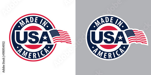 Made in USA (United States of America) Poster Mural XXL