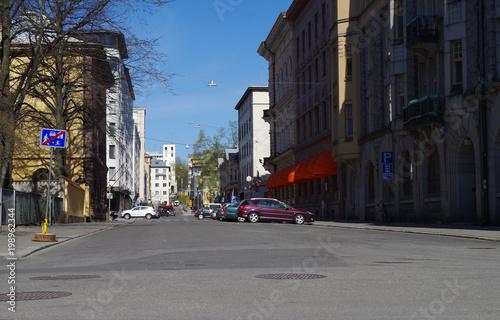 Fototapeta Street view obraz na płótnie