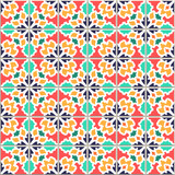 Colorful Vector seamless pattern, based on traditional wall and floor tiles Mediterranean style. - 198966145
